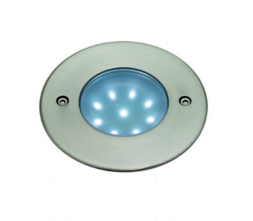 Firstlight 1806WH Stainless Steel with White LED's LED Walkover Light